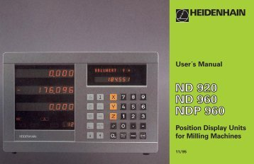 encoder position display unit