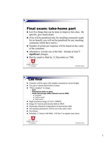final exam machine 2010