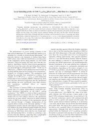 Local tunneling probe of (110) Y0.95Ca0.05Ba2Cu3O7− thin films in ...