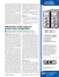 Minimalist model captures water-cycle complexities