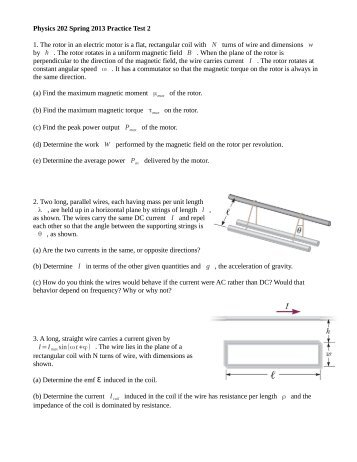 physics 202 spring 2013 practice test 2 1 the rotor in an electric ?quality=80 hd wallpapers wiring diagram practice test android3dgfandroid cf wiring diagram practice test at soozxer.org