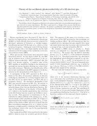 arXiv:cond-mat/0310668 v1 28 Oct 2003 - Department of Physics