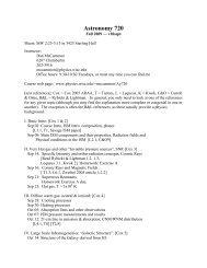 Syllabus: Fall 2009 (10sep)