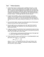 Part I 7-Minute Questions