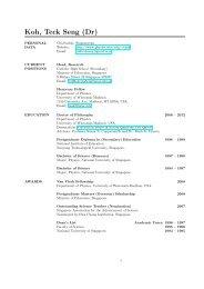 Curriculum Vitae - Department of Physics - University of Wisconsin ...