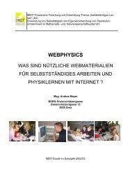 Studie - PhysicsNet