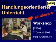 zum Workshop - PhysicsNet