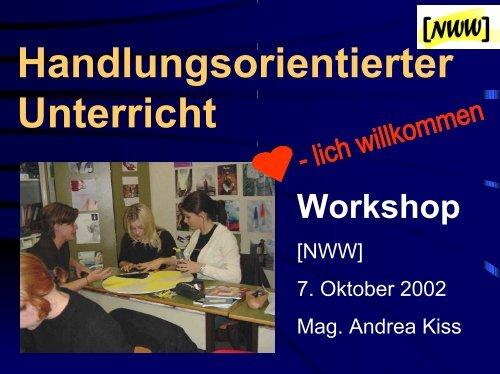 zum Workshop - PhysicsNet