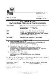 753081 – mathcad für mathematisch-technische ... - PhysicsNet