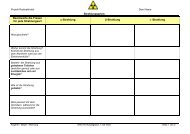 Arbeitsblatt Strahlungsarten - PhysicsNet