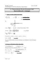 Lösungen - PhysicsNet