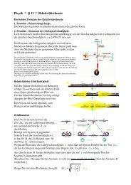 SRT Postulate und Zeitdilatation