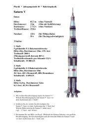 Raketenphysik Saturn V