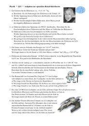 Aufgaben zur SRT