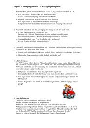 Aufgabenblatt Überholvorgang