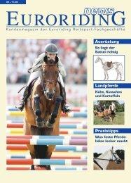 Praxistipps Landpferde Ausrüstung - Euroriding