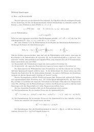 III Ideale Quantengase §1 Bose- und Fermistatistik