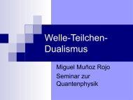 Welle-Teilchen-Dualismus