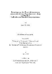 Berechnung der Produktionsraten atmosphärischer Neutrinos mit ...