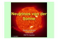 Sonne Experimente I SNP Experimente II Lösung - Physikzentrum ...