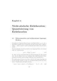 Nicht-abelsche Eichtheorien - Physikzentrum der RWTH Aachen