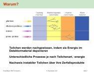 Bremsstrahlung - Physikzentrum der RWTH Aachen