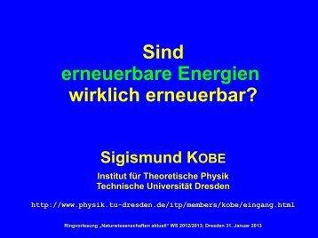Vortragsfolien - Technische Universität Dresden