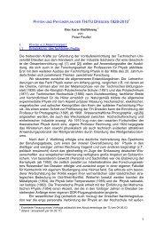 Physik und Physiker an der TH/TU Dresden 1828-2003