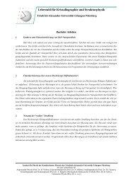 Lehrstuhl für Kristallographie und Strukturphysik - Department für ...
