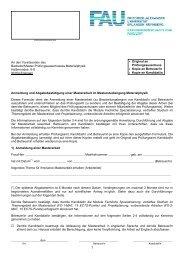1 - Department für Physik - Friedrich-Alexander-Universität Erlangen ...