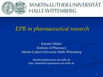 EPR - Institut für Physik