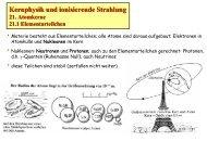 Kernphysik und ionisierende Strahlung