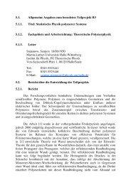 5.1. Allgemeine Angaben zum beendeten Teilprojekt B3 5.1.1. Titel ...