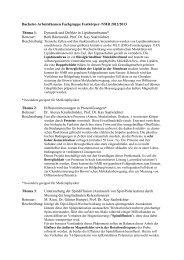 Fachgruppe NMR (Prof. Saalwächter - Institut für Physik - Martin ...