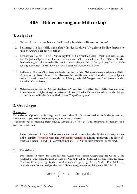V+405 - Friedrich-Schiller-Universität Jena