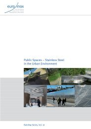 Public Spaces – Stainless Steel in the Urban Environment - Euro Inox