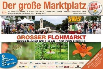 GROSSER FLOHMARKT - Der Große Marktplatz