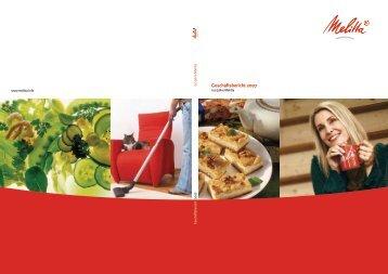 Geschäftsbericht 2007 - Melitta Corporate Site