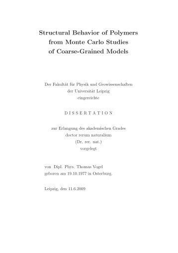 Complete document - Institut für Theoretische Physik - Universität ...