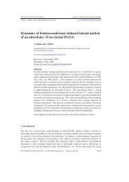 Reprint (PDF) - Physik - Philipps-Universität Marburg