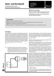 Photoeffekt Leybold (pdf, 142KB)