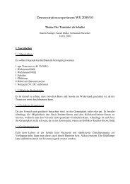 12a_TransistorSchalt.. - Didaktik der Physik!