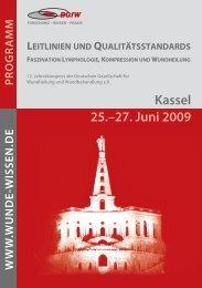 Kassel 25.–27. Juni 2009 - DGfW