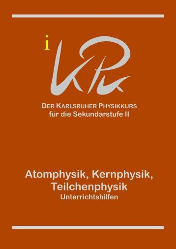 zu Band 5 - Abteilung für Didaktik der Physik - KIT