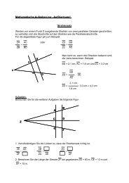 """Mathematische Aufgaben zur """"Auffrischung"""" - Didaktik der Physik"""
