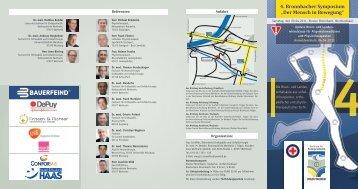 4. Bronnbacher Symposium - Physio-Verband