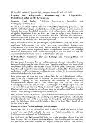 Statement Ursula Frohner (OEGKV) - Physio Austria