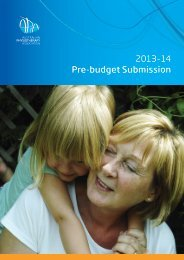 Download the APA budget submission - Australian Physiotherapy ...