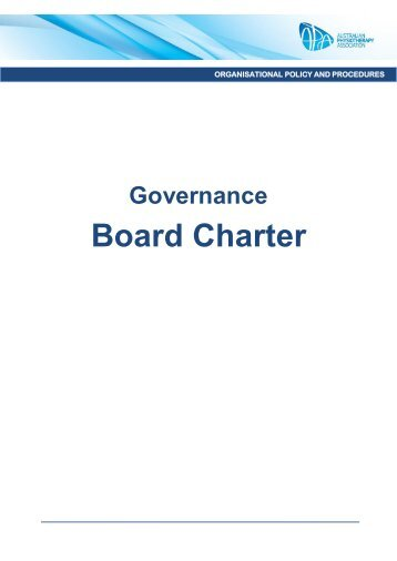 APA Board Charter - Australian Physiotherapy Association