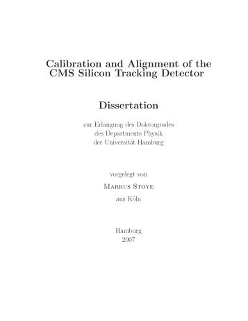 Calibration and Alignment of the CMS Silicon Tracking Detector ...